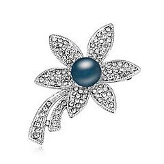 Dame Brocher Perle Lyserød Natur Perle Legering Blomstformet Smykker Til Daglig