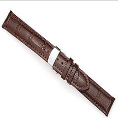 お買い得  腕時計用アクセサリー-メンズ/ women'swatchバンド牛革の22ミリメートルの時計アクセサリー