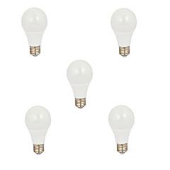 5szt. 5w e26 / e27 żarówki światłowodowe 550lm ciepłe białe zimno białe dekoracyjne ac220-240v