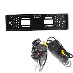 abordables Cámaras para Retrovisor de Coche-aparcamiento sistema de asistencia posterior del coche inalámbrico vista de la cámara de auto 4led CCD HD 1080p retrovisor revertir la
