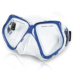 Μάσκες Κατάδυσης Δεν απαιτούνται εργαλεία Καταδύσεις & Κολύμπι με Αναπνευστήρα Κολύμβηση PVC Κόκκινο Μπλε
