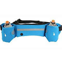 abordables Bolsas para Fitness-Bolsa de cinturón Cinturón para Botella para Running Bolsas de Deporte Impermeable Secado rápido Bolsa de agua integrada Listo para
