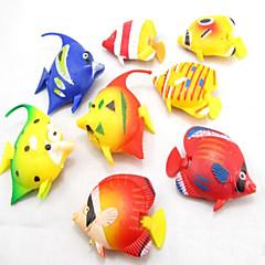 ديكور حوض السمك سمك اصطناعي غير سام و بدون طعم بلاستيك