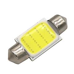 Недорогие Освещение салона авто-SO.K 10 шт. T11 Автомобиль Лампы 3 W COB 120 lm Светодиодная лампа Внутреннее освещение