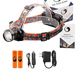 U'King Headlamps Headlight 2000 lm 3 Mode Cree XM-L T6 Adjustable Focus Compact Size Easy Carrying High Power Multifunction Zoomable for