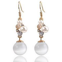 Dames Oorknopjes imitatie Opal Natuur Modieus Europees Parel Opaal  Legering Sieraden Sieraden Voor Dagelijks