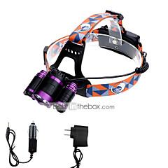preiswerte Stirnlampen-lm Stirnlampen LED 3 Modus - U'King Zoomable- / einstellbarer Fokus / Einfach zu tragen