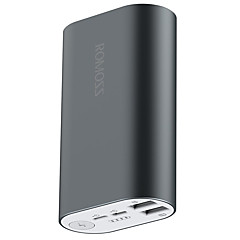 ROMOSS®  Power Bank 10000mAh A10 External Battery Pack 5V 2 USB Output for All Phones Tablet PC