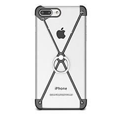 Для со стендом Кольца-держатели Кейс для Бампер Кейс для Один цвет Твердый Алюминий для AppleiPhone 7 Plus iPhone 7 iPhone 6s Plus/6 Plus