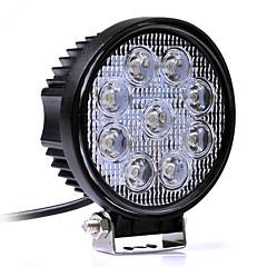 Недорогие Противотуманные фары-JIAWEN Автомобиль Лампы 27W Высокомощный LED Светодиодная лампа Рабочее освещение / Налобный фонарь / Противотуманные фары