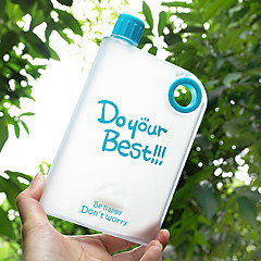노블티 반투명 드링크웨어, 400 ml 누수방지 BPA 무료 플라스틱 주스 물병