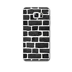 Для Ультратонкий С узором Кейс для Задняя крышка Кейс для Геометрический рисунок Мягкий TPU для Samsung Note 5 Note 4