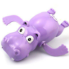 Water Toy Wind-up Toy Bath Toy Toys Novelty Horse Hippo Plastic Pieces Kids Carnival Children's Day Gift