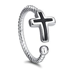 preiswerte Ringe-Damen Ring - versilbert Stilvoll Verstellbar Silber Für Hochzeit / Party / Besondere Anlässe / Normal