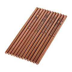 12 개 나무 검정 잉크 연필 HB 1 세트
