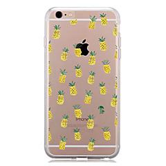 Недорогие Кейсы для iPhone 6-Кейс для Назначение Apple iPhone 7 Plus iPhone 7 С узором Кейс на заднюю панель Фрукты Мягкий ТПУ для iPhone 7 Plus iPhone 7 iPhone 6s