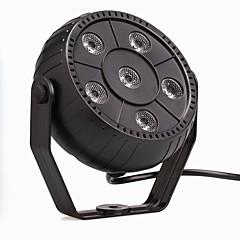 Χαμηλού Κόστους Φωτιστικά Εσωτερικού Χώρου-u'king® 9W 6led RGB 3 σε 1 πλαστική στάδιο επίδραση par 1pcs ελέγχου φωτός auto / φωνής