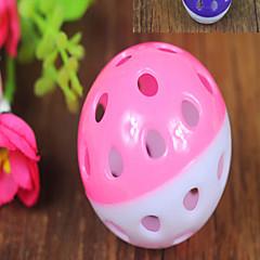 Zabawka dla kota Zabawka dla psa Zabawki dla zwierząt Owalne Klatka Plastik Purple