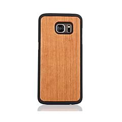 Etui Til Samsung Galaxy S7 edge S7 Mønster Bakdeksel Helfarge Hard Tre til S7 edge S7