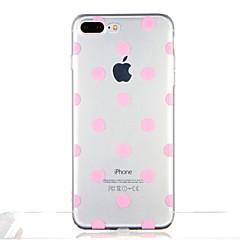 Varten Läpinäkyvä Kuvio Etui Takakuori Etui Geometrinen printti Laattakuvio Pehmeä TPU varten AppleiPhone 7 Plus iPhone 7 iPhone 6s Plus