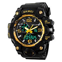 Χαμηλού Κόστους Έξυπνα ρολόγια-Έξυπνο ρολόι Ανθεκτικό στο Νερό Μεγάλη Αναμονή Πολυλειτουργία Χρονόμετρο Ξυπνητήρι Χρονογράφος Ημερολόγιο IR Όχι Υποδοχή καρτών Sim