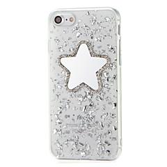 Для Стразы Зеркальная поверхность Своими руками Кейс для Задняя крышка Кейс для Сияние и блеск Мягкий TPU для AppleiPhone 7 Plus iPhone 7