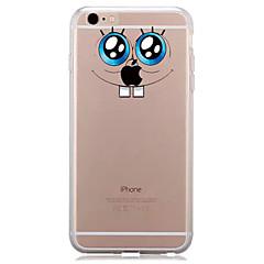 お買い得  iPhone 5S/SE ケース-ケース 用途 Apple iPhone 7 Plus iPhone 7 クリア パターン バックカバー Appleロゴアイデアデザイン ソフト TPU のために iPhone 7 Plus iPhone 7 iPhone 6s Plus iPhone 6s iPhone 6