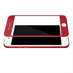 Недорогие Защитные пленки для iPhone 7-Защитная плёнка для экрана для Apple iPhone 7 Закаленное стекло 1 ед. Защитная пленка на всё устройство HD / Уровень защиты 9H / 2.5D закругленные углы