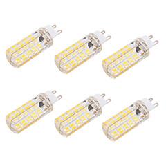 お買い得  LED 電球-BRELONG® 6本 6 W 550 lm G9 / E26 / E27 LEDコーン型電球 T 80 LEDビーズ SMD 5730 調光可能 / 装飾用 温白色 / クールホワイト 220-240 V / 110-130 V / 6個 / RoHs / CE