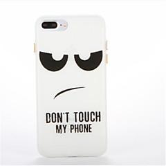 お買い得  iPhone 5S/SE ケース-ケース 用途 Apple iPhone 8 iPhone 8 Plus 蓄光 パターン バックカバー ワード/文章 ソフト TPU のために iPhone 8 Plus iPhone 8 iPhone 7 Plus iPhone 7 iPhone 6s Plus