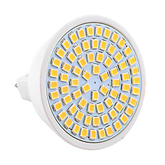 cheap LED Bulbs-YWXLight® 7W GU5.3(MR16) LED Spotlight MR16 72 SMD 2835 500-700 lm Warm White Cold White Natural White Decorative