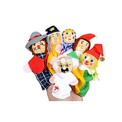 Zabawy w odgrywanie ról Pacynka na palec Zabawka edukacyjna Zabawki Zabawki Dla dziewczynek 6 Sztuk