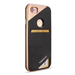 Недорогие Кейсы для iPhone 6-Кейс для Назначение Apple iPhone 8 iPhone 8 Plus Бумажник для карт Защита от удара Задняя крышка броня Твердый PC для iPhone 8 Pluss
