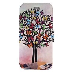 For Case Cover Card Holder with Stand Flip Pattern Full Body Case Tree Hard PU Leather for SamsungOn5(2016) J5 (2016) J5 Prime J3 Prime