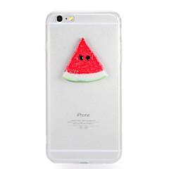 Для Прозрачный Своими руками Кейс для Задняя крышка Кейс для Фрукт Твердый PC для AppleiPhone 7 Plus iPhone 7 iPhone 6s Plus iPhone 6