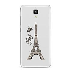 Varten Läpinäkyvä Kuvio Etui Takakuori Etui Eiffelin torni Pehmeä TPU varten XiaomiXiaomi Mi 5 Xiaomi Mi 4 Xiaomi Mi 5s Xiaomi Mi 5s Plus