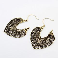 preiswerte Ohrringe-Damen Tropfen-Ohrringe - Herz Retro, Modisch Silber / Bronze Für Alltag / Normal