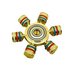 olcso Stresszoldó pörgettyűk-Stresszoldó pörgettyűk Kézi Spinner Játékok hat Spinner Nagy sebesség Office Desk Toys Enyhíti ADD, ADHD, a szorongás, az autizmus A