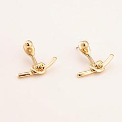 preiswerte Ohrringe-Damen Ohrringe baumeln - Personalisiert, Einzigartiges Design, Modisch Gold / Silbern Für Alltag / Normal