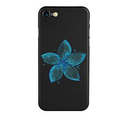 Недорогие Кейсы для iPhone 7 Plus-Кейс для Назначение Apple iPhone 7 / iPhone 7 Plus С узором Кейс на заднюю панель Цветы Мягкий ТПУ для iPhone 7 Plus / iPhone 7 / iPhone 6s Plus