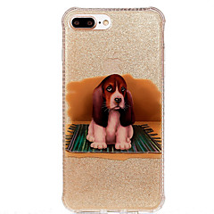 For Apple iPhone 7 Plus 7 Case Cover IMD Pattern Back Cover Dog Soft TPU 6s Plus 6 Plus 6s 6 SE 5s 5