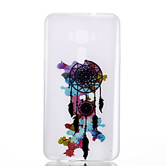 Mert Foszforeszkáló Jeges Áttetsző Minta Case Hátlap Case Álomvadász Puha TPU mert AsusAsus ZenFone 3 (ZE552KL)(5.5) Asus Zenfone 3