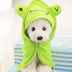 الحيوانات الأليفة منشفة الحمام مع غطاء