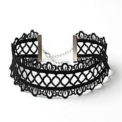 Gothic Halsketting Geïnspireerd door vintage Zwart Lolita-accessoires Halsketting Effen Voor Polyester