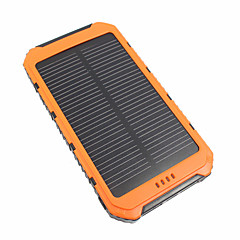 billige Batteribanker-10000mah power bank eksternt batteri 5v 3.1a # batterioplader vandtæt multi-output sol opladning led