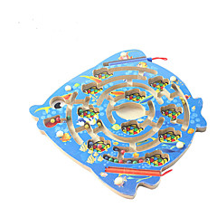 Jucării Educaționale Puzzle Lemn Labirint & Puzzle-uri Secvențiale Labirint Jucarii de Copil Pentru copii 1 Bucăți