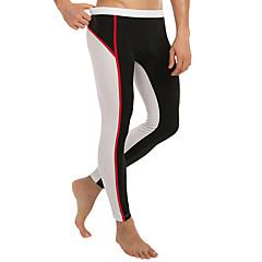 Homens Leggings de Ginástica Leggings de Corrida Respirável Calças para Boxe Skate Exercício e Atividade Física Esportes Relaxantes