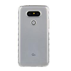 용 충격방지 투명 케이스 뒷면 커버 케이스 단색 소프트 TPU 용 LG LG K10 LG K8 LG K7 LG의 K5 LG K4 LG G5 LG G4 LG G3