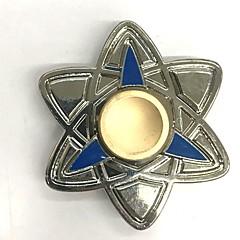 abordables Fidget spinners-Peonza Hilandero de mano Juguetes Juguetes creativos Triángulo Metal