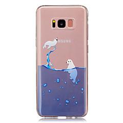tanie Galaxy S4 Mini Etui / Pokrowce-Kılıf Na Samsung Galaxy S8 Plus S8 IMD Przezroczyste Wzór Etui na tył Zwierzę Miękkie TPU na S8 S8 Plus S5 Mini S4 Mini